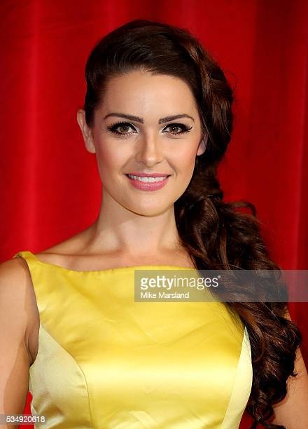 Anna Passey attends the British Soap Awards 2016 at Hackney Empire on May 28 2016 in London England