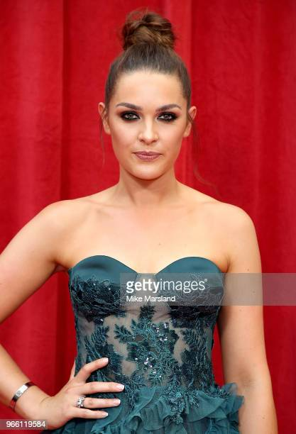 Anna Passey attends the British Soap Awards 2018 at Hackney Empire on June 2 2018 in London England
