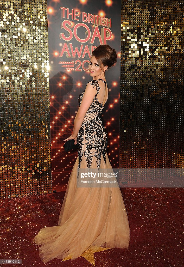 Anna Passey attends the British Soap Awards at Manchester Palace Theatre on May 16, 2015 in Manchester, England.