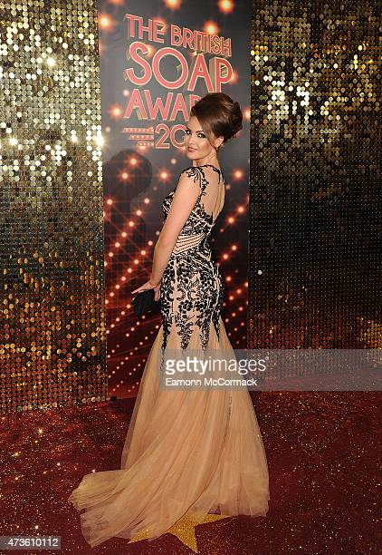 Anna Passey attends the British Soap Awards at Manchester Palace Theatre on May 16 2015 in Manchester England