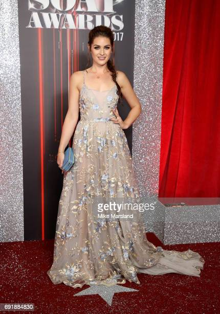 Anna Passey attends The British Soap Awards at The Lowry Theatre on June 3 2017 in Manchester England The Soap Awards will be aired on June 6 on ITV...
