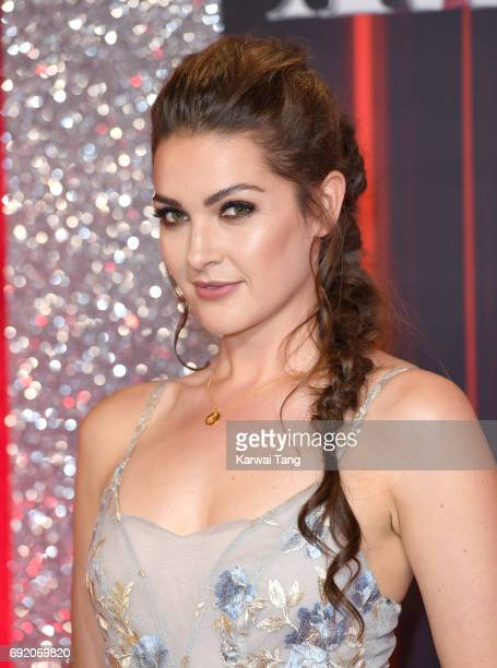 Anna Passey attends the British Soap Awards at The Lowry Theatre on June 3 2017 in Manchester England