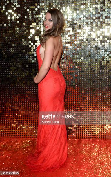 Anna Passey attends the British Soap Awards held at the Hackney Empire on May 24 2014 in London England