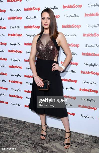 Anna Passey attends the Inside Soap Awards at The Hippodrome on November 6 2017 in London England
