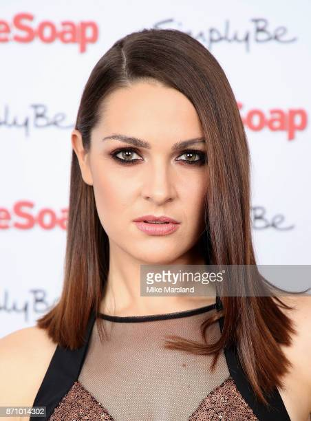 Anna Passey attends the Inside Soap Awards held at The Hippodrome on November 6 2017 in London England