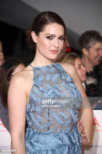 Anna Passey attends the National Television Awards 2018 at The O2 Arena on January 23 2018 in London England