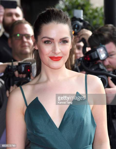 Anna Passey attends the TRIC Awards 2017 at the Grosvenor House on March 14 2017 in London United Kingdom