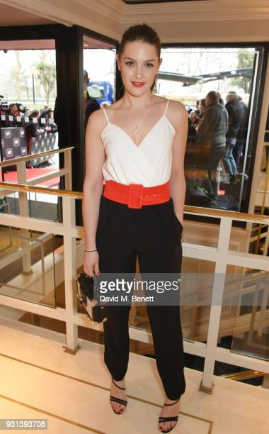 Anna Passey attends the TRIC Awards 2018 held at The Grosvenor House Hotel on March 13 2018 in London England