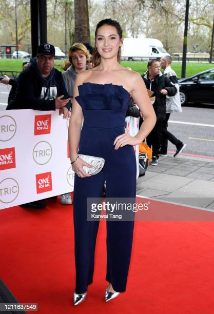 Anna Passey attends the TRIC Awards 2020 at The Grosvenor House Hotel on March 10 2020 in London England