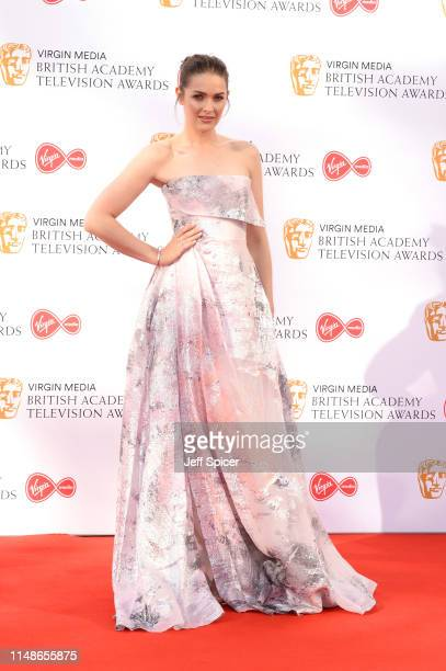 Anna Passey attends the Virgin Media British Academy Television Awards 2019 at The Royal Festival Hall on May 12 2019 in London England