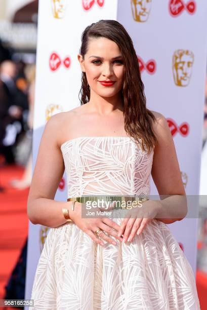 Anna Passey attends the Virgin TV British Academy Television Awards at The Royal Festival Hall on May 13 2018 in London England