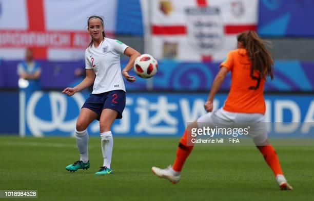 Anna Patten of England during the FIFA U20 Women's World Cup France 2018 Quarter Final quarter final match between England and Netherlands at Stade...