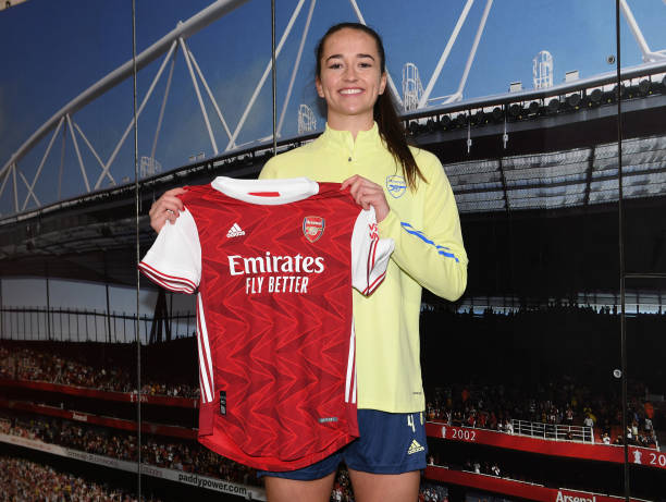 GBR: Arsenal Women Unveil New Signing Anna Patten