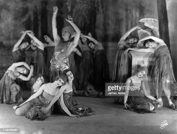Anna Pavlova Russian ballerina performing in 'Autumn Leaves' one of a number of choreographed by Pavlova circa 1921