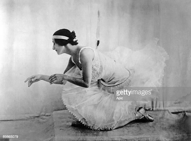 Anna Pavlova russian dancer here posing for an anonymous photographer c 1920