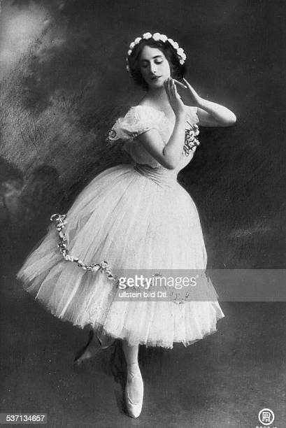 Anna PavlovaAnna Pawlowa Ballettänzerin Tänzerin Russland 1909