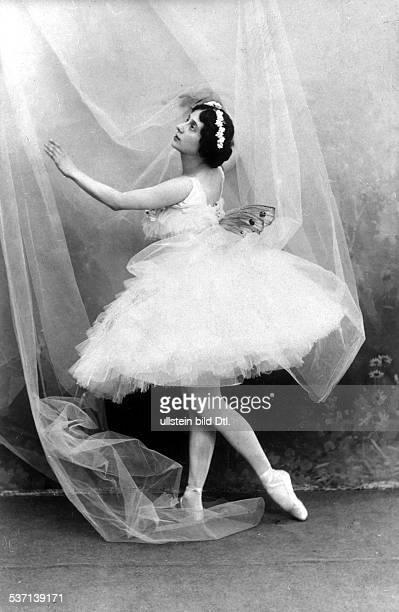 Anna PavlovaAnna Pawlowa Ballettänzerin Tänzerin Russland Primaballerina des ehem Kaiserlichen Hofballetts Petersburg 1908