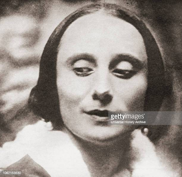 Anna Pavlovna Matveyevna Pavlova 1881 1931 Russian prima ballerina From These Tremendous Years published 1938
