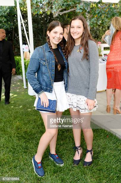 Anna Petrocelli and Marissa attend the annual HEART Brunch featuring Stella McCartney on April 18 2017 in Los Angeles California