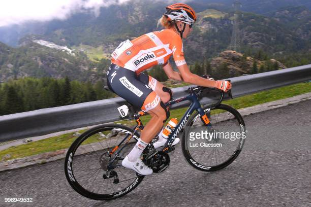 Anna Plichta of Poland and Boels - Dolmans Cycling Team / during the 29th Tour of Italy 2018 - Women, Stage 7 a 15km Individual time trial stage from...