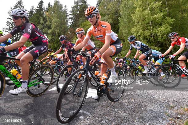 Anna Plichta of Poland and Boels Dolmans Cycling Team / during the 4th Ladies Tour of Norway 2018 Stage 3 a 154km stage from Svinesund to Halden /...