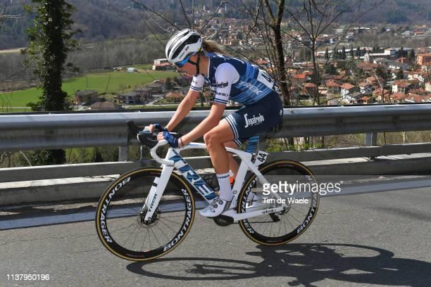 Anna Plichta of Poland and Team Trek- Segafredo / during the 44th Trofeo Alfredo Binda-Comune di Cittiglio 2019, Women a 131,1km race from Taino to...