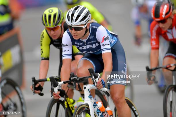 Anna Plichta of Poland and Trek- Segafredo / during the WNT Madrid Challenge by La Vuelta, Stage 2 a 98,6km stage from Madrid to Madrid /...