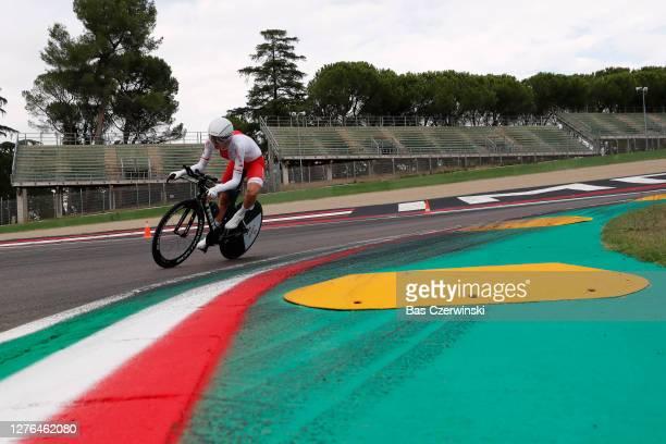 Anna Plichta of Poland / Autodromo Enzo e Dino Ferrari / during the 93rd UCI Road World Championships 2020, Women Elite Individual Time Trial a...