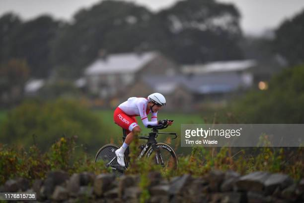 Anna Plichta of Poland / during the 92nd UCI Road World Championships 2019, Women Elite Individual Time Trial a 30,3km Individual Time Trial race...