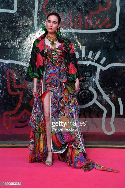 Anna Plunkett attends the NGV Gala 2019 at the National Gallery of Victoria on November 30 2019 in Melbourne Australia