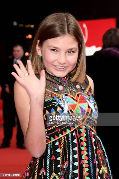 Anna Pniowsky attends the Light Of My Life premiere during the 69th Berlinale International Film Festival Berlin at Zoo Palast on February 08 2019 in...