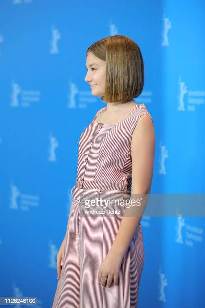 Anna Pniowsky poses at the Light Of My Life photocall during the 69th Berlinale International Film Festival Berlin at Grand Hyatt Hotel on February...