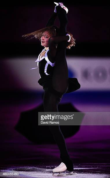 Anna Pogorilaya of Russia performs during day four of the ISU Grand Prix of Figure Skating Final 2014/2015 at Barcelona International Convention...