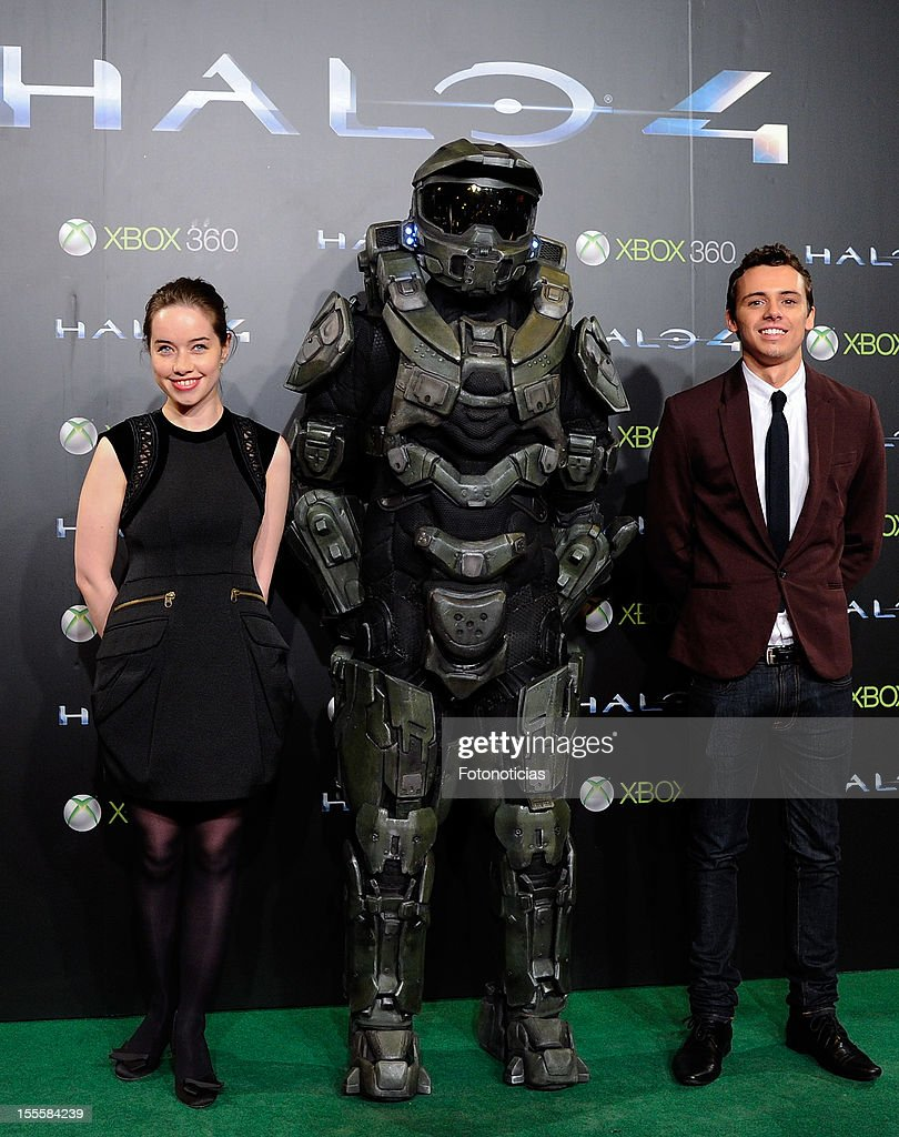 """Halo 4: Forward Unto Dawn"" Madrid Premiere : News Photo"