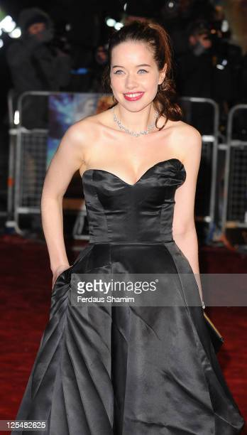 Anna Popplewell attends the royal premiere of 'The Chronicles Of Narnia The Voyage Of The Dawn Treader' at Odeon Leicester Square on November 30 2010...