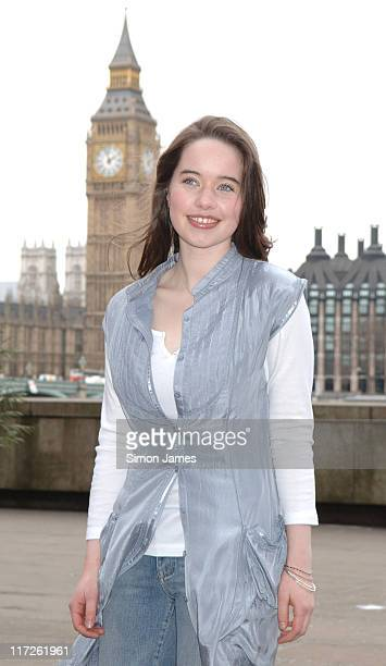 Anna Popplewell during The Chronicles of Narnia DVD Release London Photocall at County Hall in London Great Britain