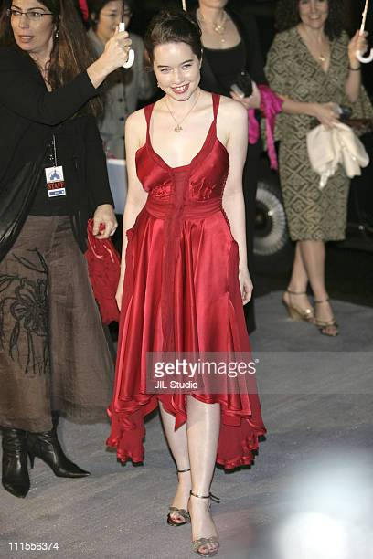 Anna Popplewell during 'The Chronicles of Narnia The Lion the Witch and the Wardrobe' Tokyo Premiere at Nippon Budokan in Tokyo Japan