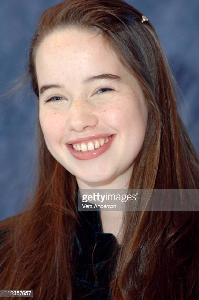 Anna Popplewell during 'The Chronicles of Narnia The Lion the Witch and the Wardrobe' Press Conference with James McAvoy Andrew Adamson George Henley...