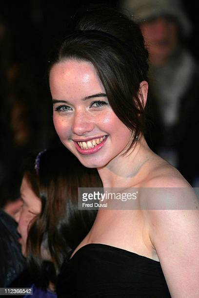 Anna Popplewell during 'The Chronicles of Narnia The Lion The Witch and the Wardrobe' London Premiere at Royal Albert Hall in London Great Britain