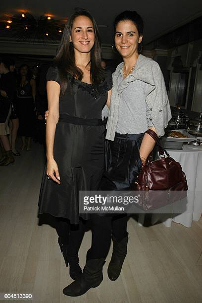 Anna Porcella Pinheiro and Amelia Vicini attend Dinner Hosted by Consuelo Castiglioni of MARNI at Bergdorf Goodman on November 15 2006 in New York...
