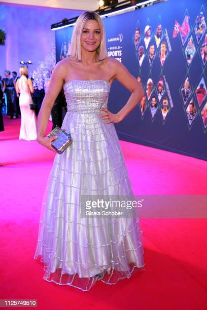 Anna Posch during the Laureus World Sports Awards 2019 at Monte Carlo Sporting Club on February 18 2019 in Monte Carlo Monaco