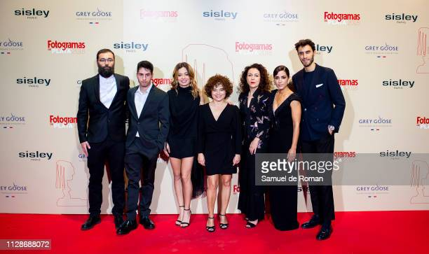 Anna R Costa Anna Castillo and Inma Cuesta attend the Fotogramas Awards 2019 at Florida Park Club on March 04 2019 in Madrid Spain