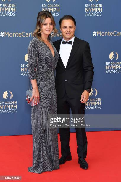 Anna Raffaela Bassi and Felipe Massa attend the closing ceremony of the 59th Monte Carlo TV Festival on June 18, 2019 in Monte-Carlo, Monaco.