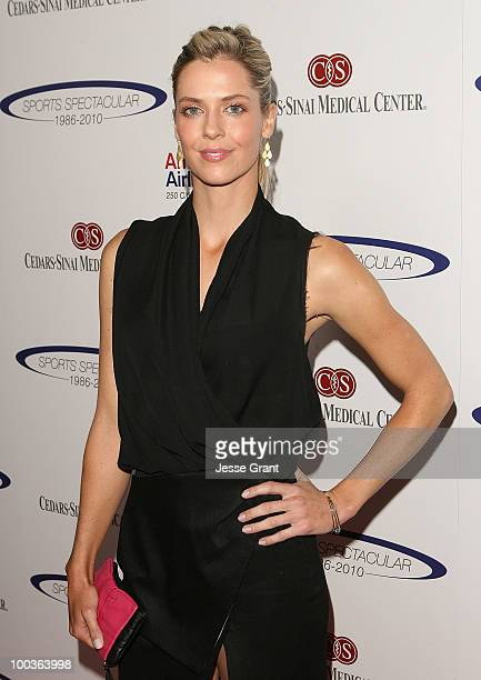 Anna Rawson arrives at the 25th anniversary of CedarsSinai Sports Spectacular at the Hyatt Regency Century Plaza on May 23 2010 in Century City...