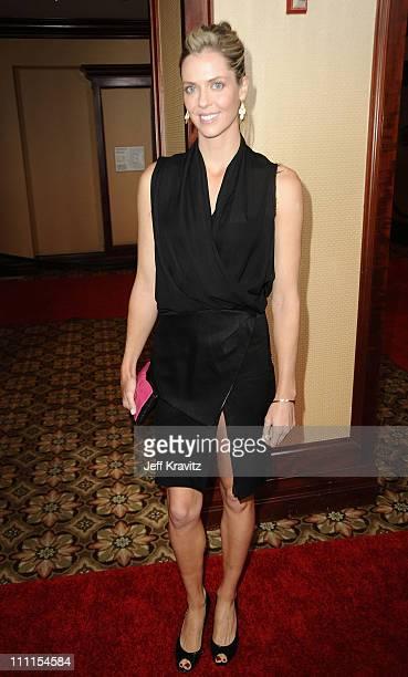 Anna Rawson arrives at the 25th Anniversary Of CedarsSinai Sports Spectacular held at Hyatt Regency Century Plaza on May 23 2010 in Century City...