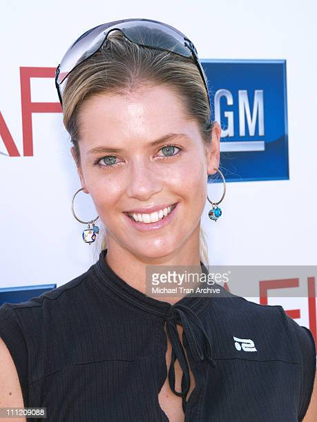 Anna Rawson during 9th Annual American Film Institute Golf Classic Presented by General Motors at Trump International Golf Club in Rancho Palos...