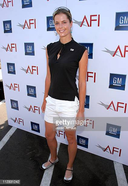 Anna Rawson during 9th Annual American Film Institute Golf Classic Presented by General Motors at Trump National Golf Club in Hollywood California...