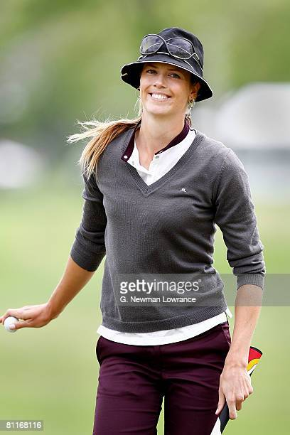 Anna Rawson of Australia smiles during the first round of the SemGroup Championship presented by John Q Hammons on May 1 2008 at Cedar Ridge Country...