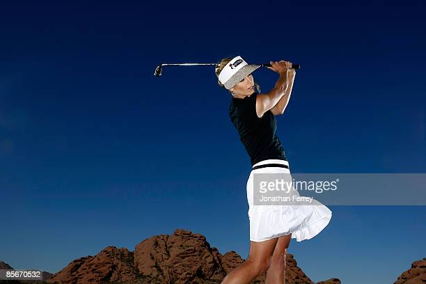 Anna Rawson poses for a portrait at the Papago Golf Course on March 25 2009 in Phoenix Arizona