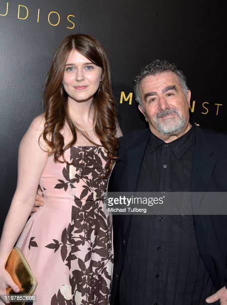 Anna Reid Rubinek and Saul Rubinek attend the Amazon Studios Golden Globes after party at The Beverly Hilton Hotel on January 05, 2020 in Beverly...